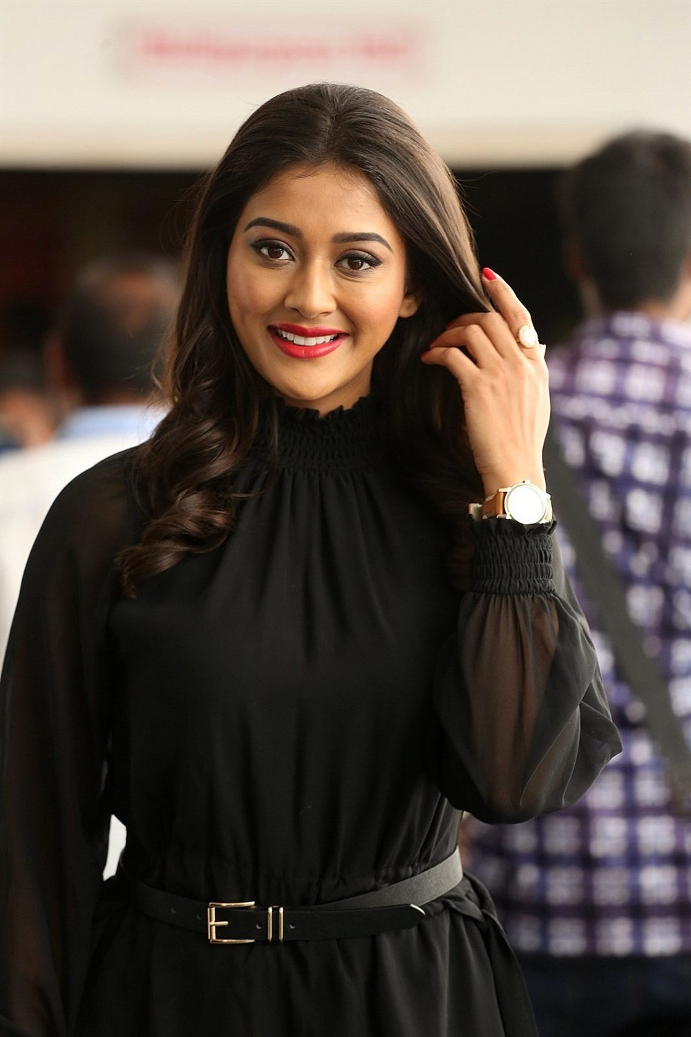 Actress Pooja Jhaveri Pics @ Kitty Party Movie Logo Launch