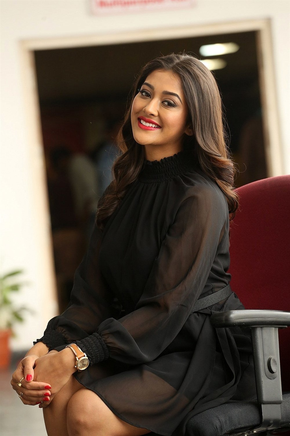 Actress Pooja Jhaveri Latest Pics @ Kitty Party First Look Launch