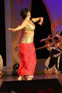 Actress Pooja Kumar Performance at Uttama Villain Audio Launch