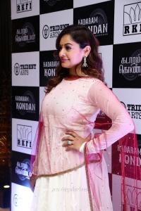 Actress Pooja Kumar New Photos HD @ Kadaram Kondan Trailer Launch