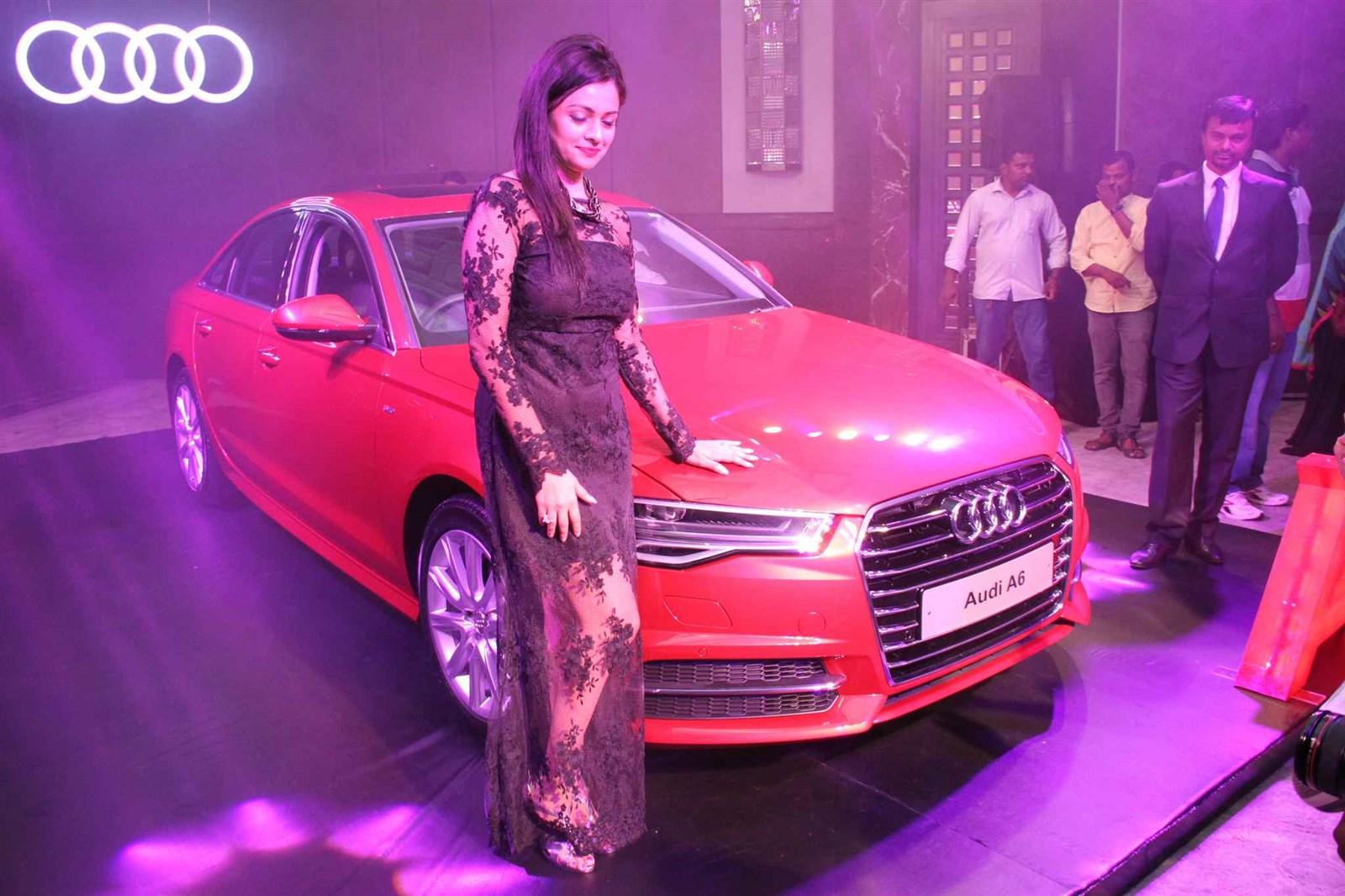 new car launches audiPicture 927477  Audi A6 Matrix Car Launch by Actress Pooja Kumar
