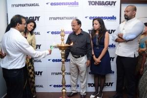Pooja Launches Toni & Guy Essensuals Salon @ Iyyapanthangal, Chennai