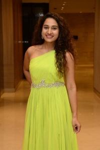 Power Play Movie Heroine Pooja Ramachandran Yellow Dress Stills
