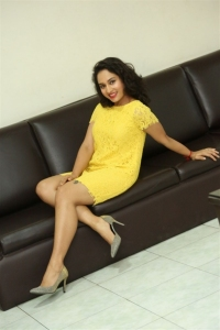 Actress Pooja Ramachandran Stills @ Inthalo Ennenni Vinthalo Movie Interview