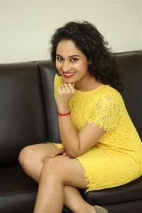 Inthalo Ennenni Vinthalo Movie Actress Pooja Ramachandran Interview Stills