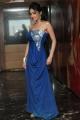 Actress Pooja Sri Hot Photos in Blue Dress