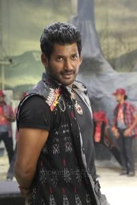 Tamil Actor Vishal in Poojai Movie Stills
