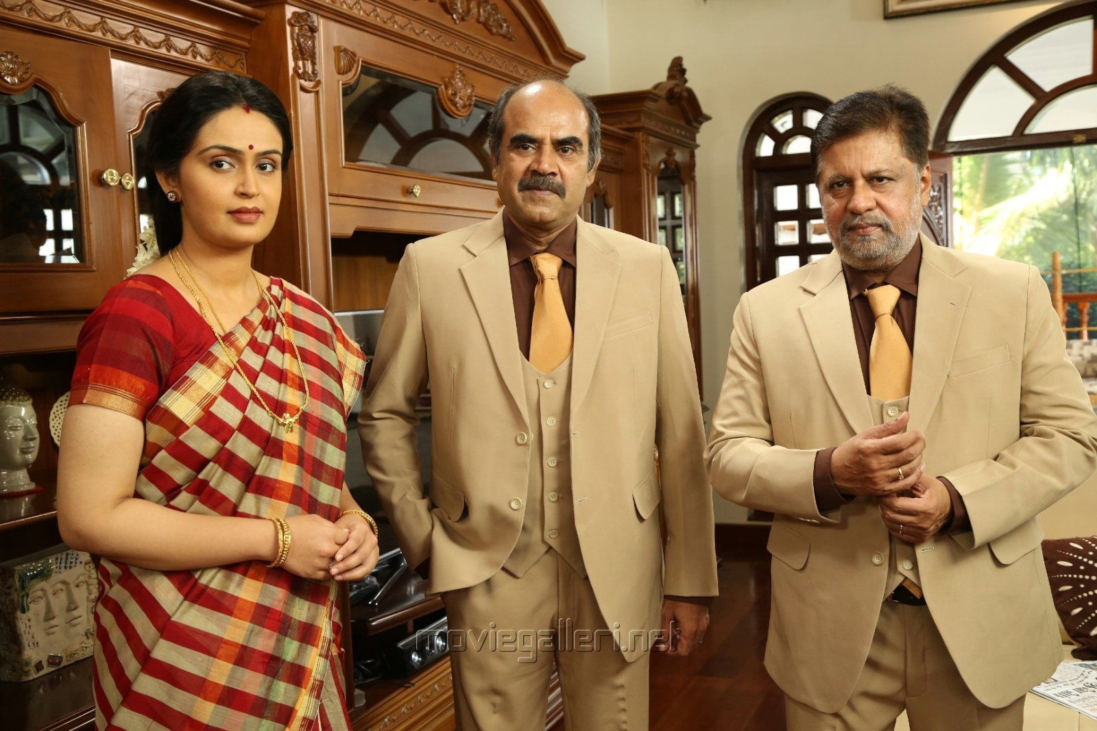 Kausalya, Jayaprakash, Thalaivasal Vijay in Poojai Movie Latest Photos