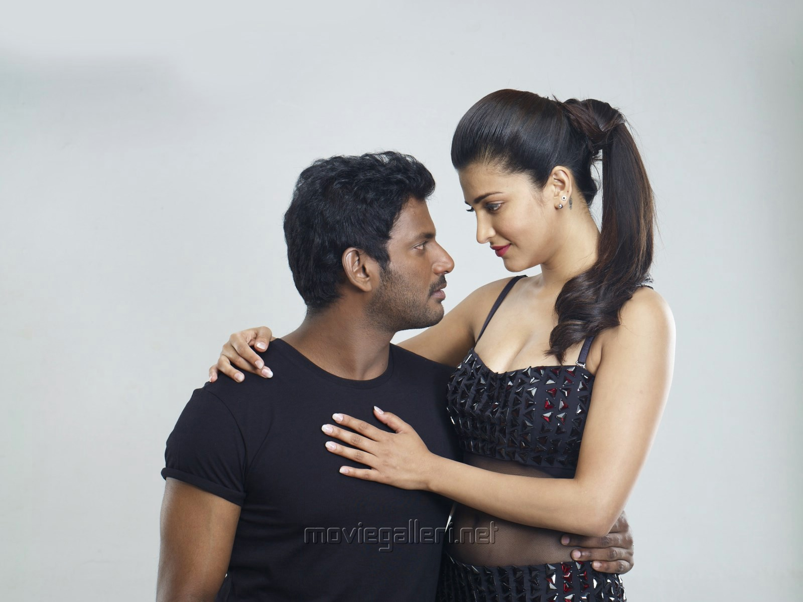 Vishal, Shruti Hassan in Poojai Tamil Movie Photoshoot stills