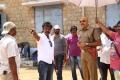 Hari, Sathyaraj @ Poojai Movie Shooting Spot Stills