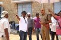 Sathyaraj, Hari @ Poojai Movie Working Stills