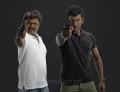 Director Hari & Vishal in Poojai Tamil Movie First Look Stills