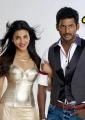 Shruti Hassan, Vishal in Poojai Tamil Movie First Look Stills
