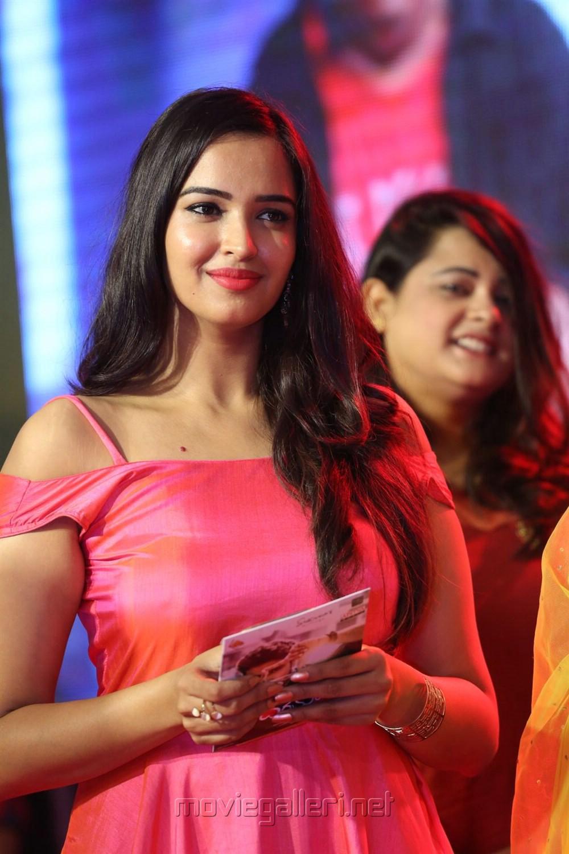 Actress Poojitha Ponnada Stills @ Darshakudu Audio Release