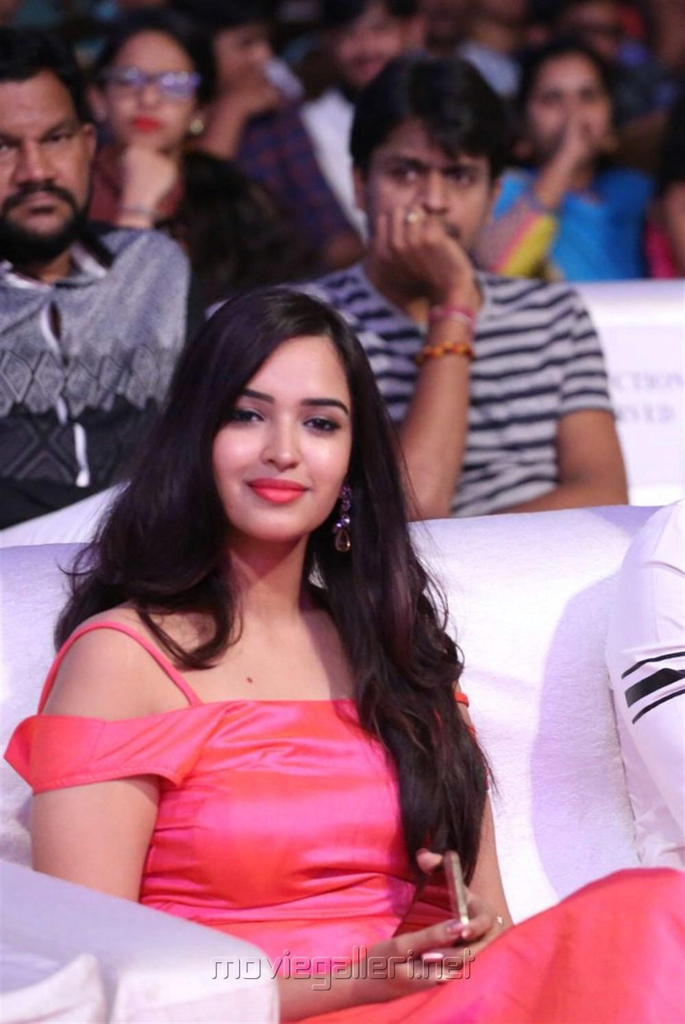 Telugu Actress Poojitha Stills @ Darshakudu Audio Release