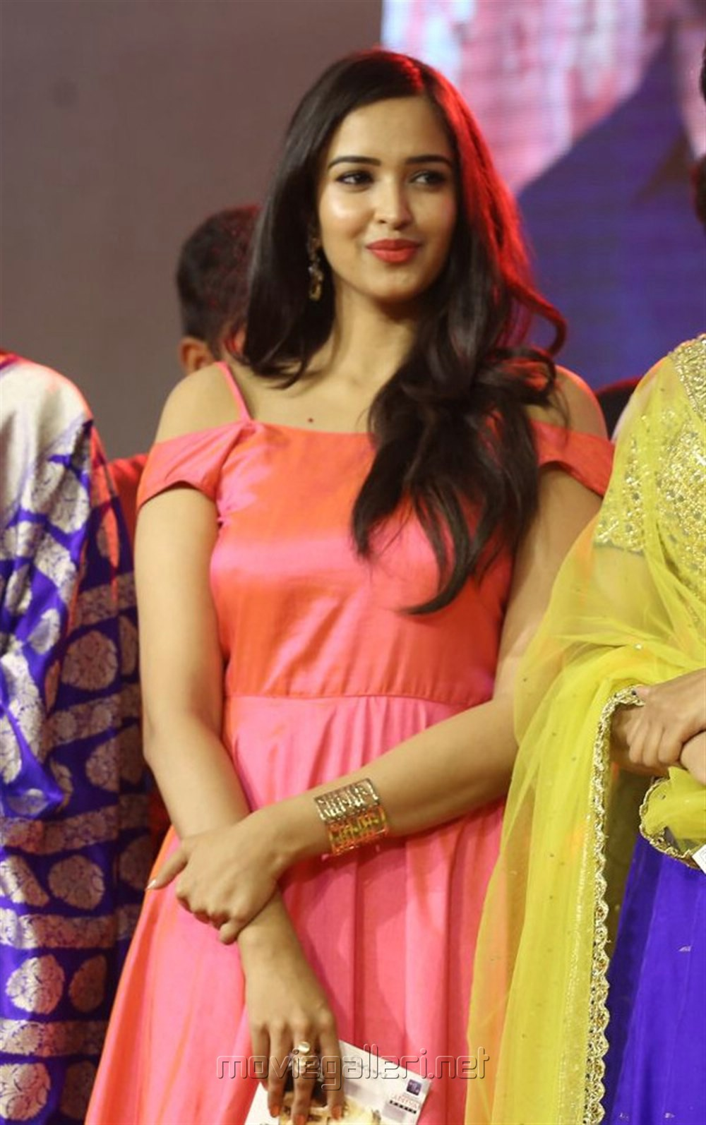 Actress Poojitha Ponnada Stills @ Darshakudu Audio Launch