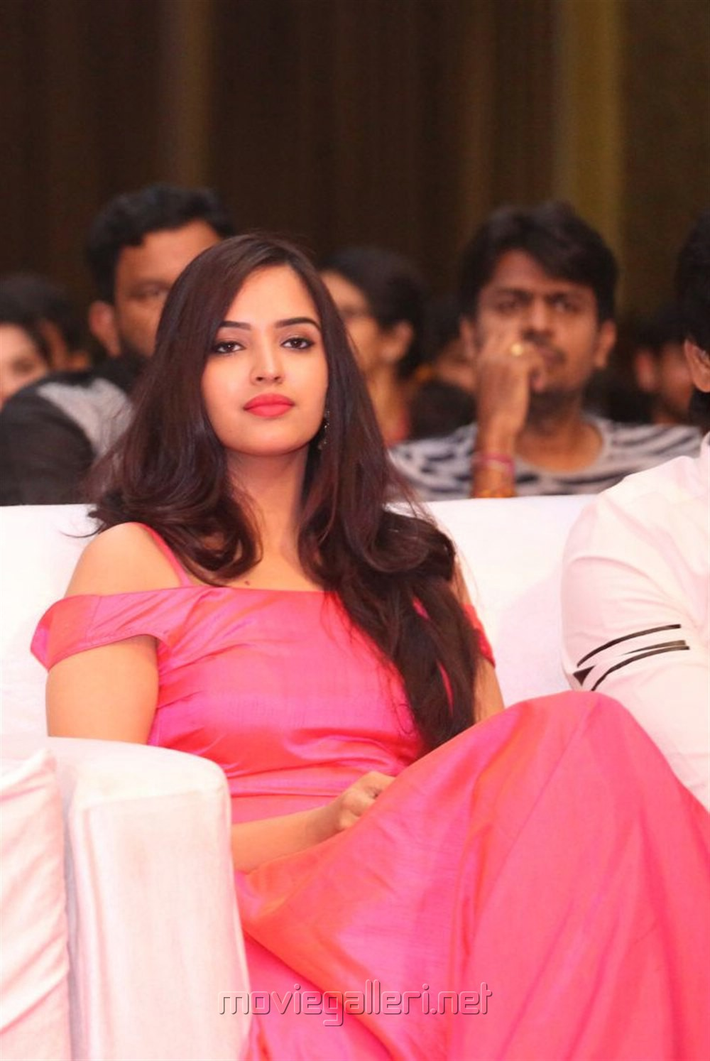 Actress Pujitha Ponnada Stills @ Darshakudu Audio Launch