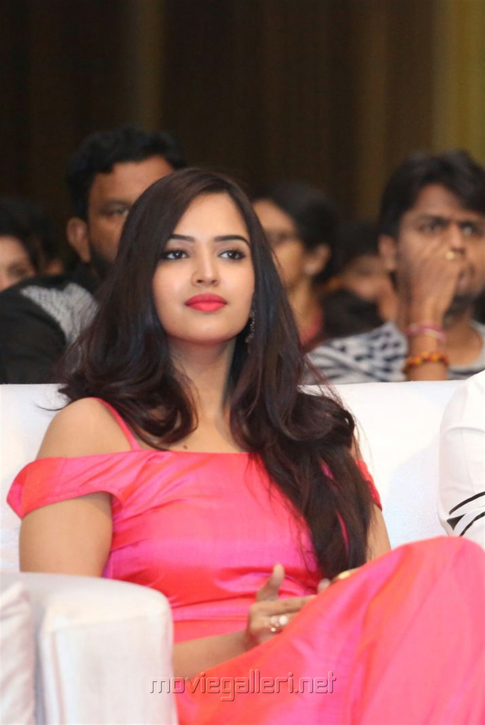 Actress Pujitha Stills @ Darshakudu Audio Release