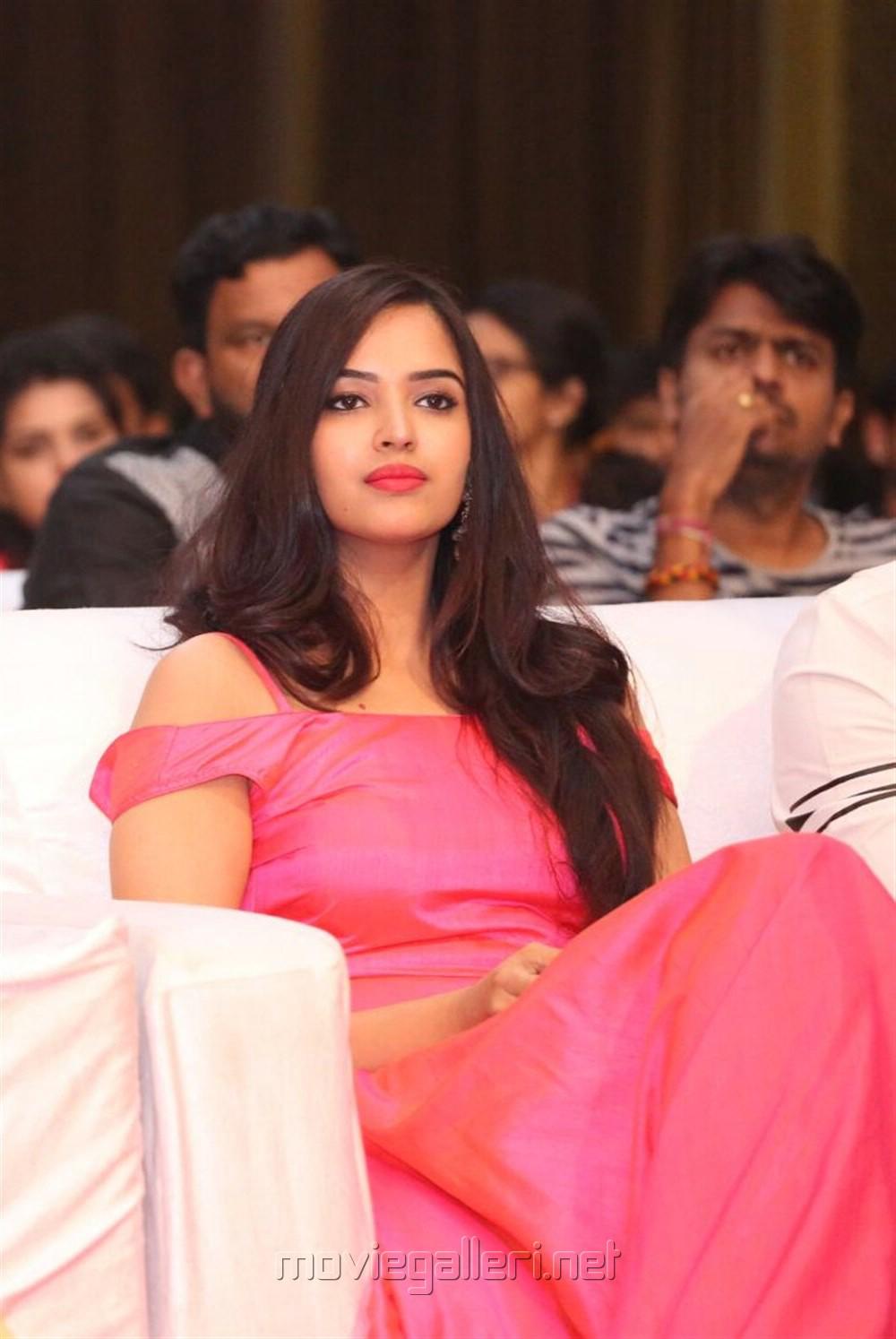 Actress Pujitha Stills @ Darshakudu Audio Release