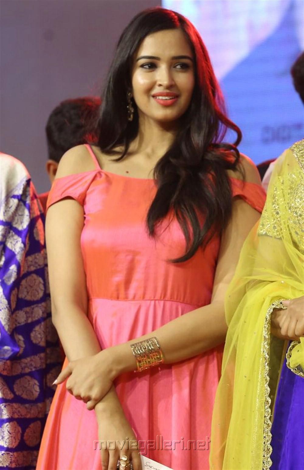 Actress Pujita Ponnada Stills @ Darshakudu Audio Release