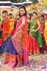Isha Chawla in Saree @ Poola Rangadu Movie Stills