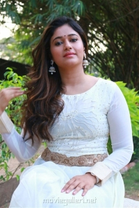 Muthina Kathirika Poonam Bajwa in White Dress Photos
