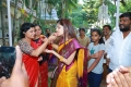 Actress Poonam kaur meet weavers in ananthapur yesterday and celebrates her birthday
