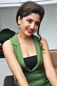 Heroine Poonam Kaur in Green Dress Hot Pics