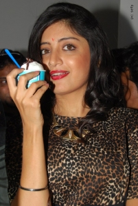 Poonam Kaur at CI-Gusta Ice Cream Parlour Launch, Hyderabad