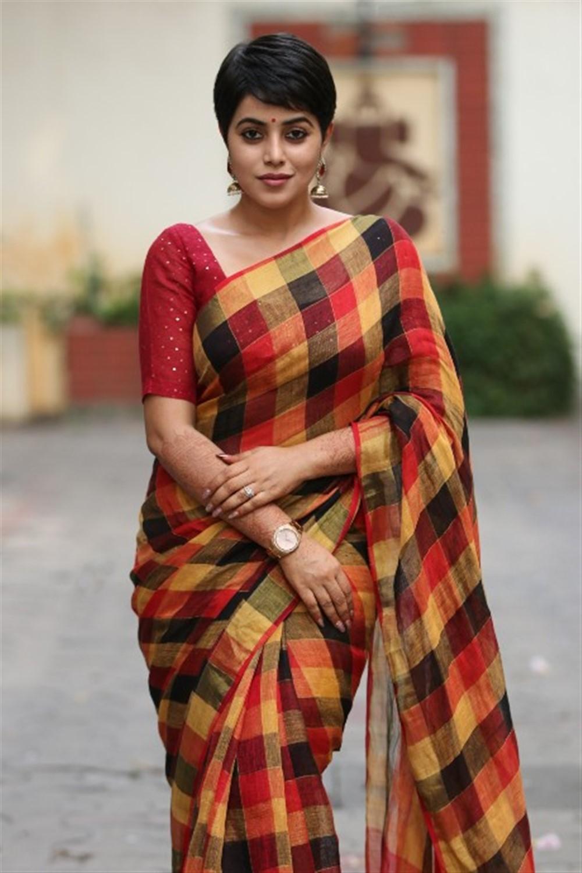 Savarakathi Actress Poorna in Saree Latest Images