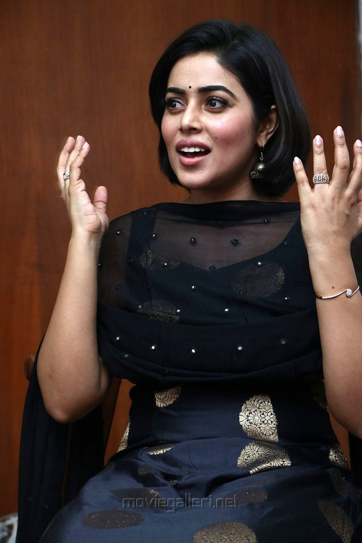 Actress Poorna New Pics @ Blue Whale Audio Launch