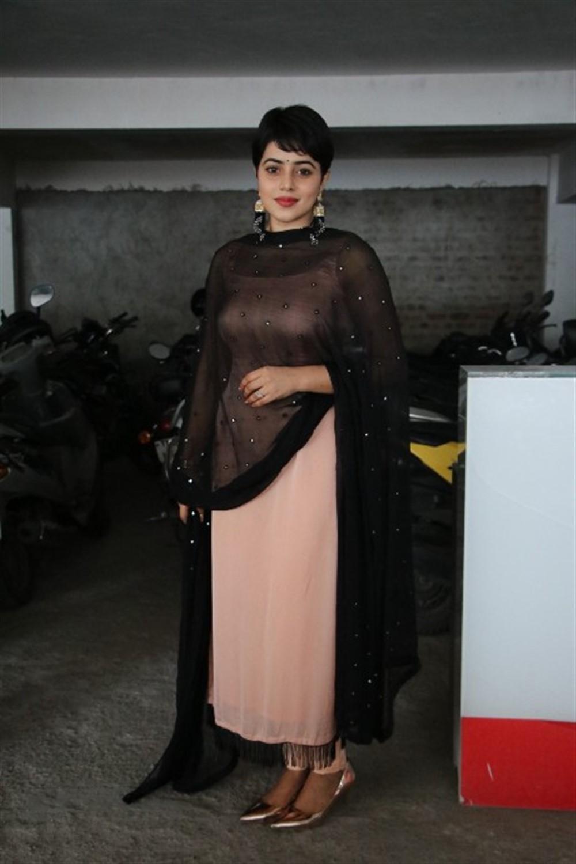 Actress Poorna New Pics @ Savarakathi Thanks Meet