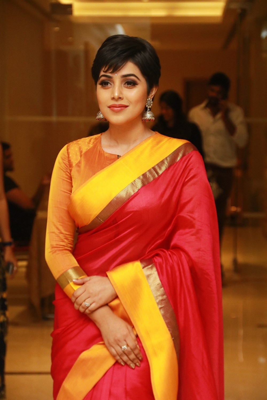Actress Poorna New Saree Stills