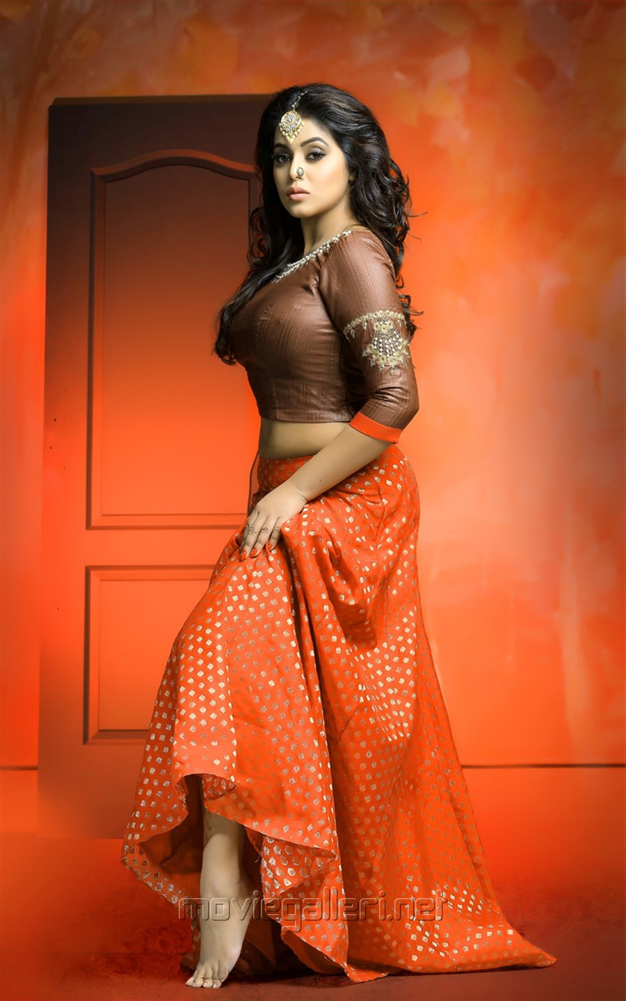 Actress Poorna Hot Photoshoot Stills