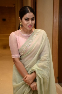 Actress Poorna Latest Pictures @ Power Play Pre Release Function