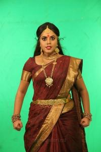 Actress Poorna Saree Stills in Avanthika Movie