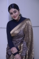Actress Shamna Kasim Saree Images @ Sundari Movie Trailer Launch