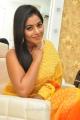 Actress Poorna Yellow Red Saree Photos