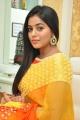 Actress Shamna Kasim Yellow Saree Photos