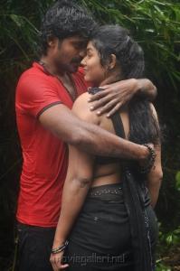 Eswar, Madhushree in Poorvakudi Movie Hot Stills