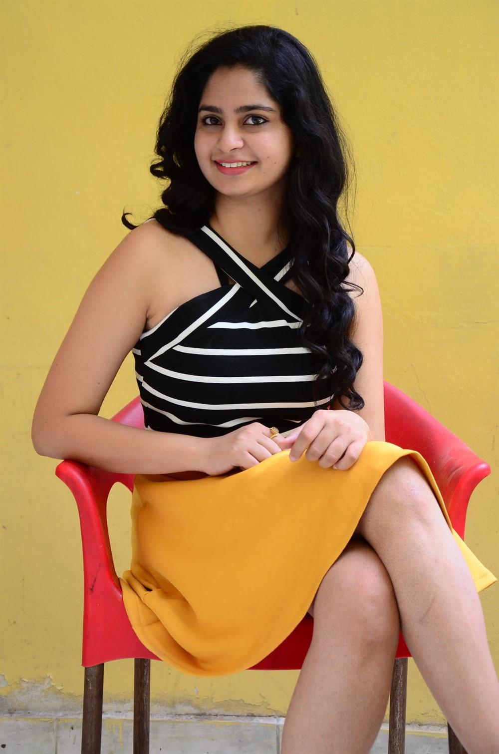 Actress Poorvi Takkara Photos @ Only Nenu Press Meet