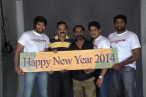 Poramboku Movie Team New Year 2014 Wishes Photos