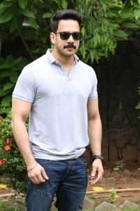 Actor Bharath @ Pottu Movie Press Meet Stills