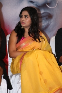 Actress Srushti Dange @ Pottu Movie Press Meet Stills
