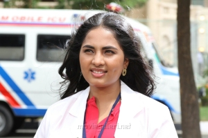 Actress Srushti Dange in Pottu Movie Stills