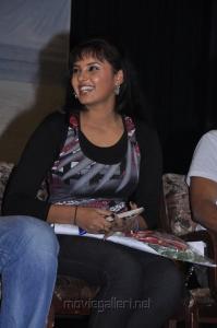 Actress Aarushi at Alagan Alagi Power Star's Terror Love Anthem Launch Photos