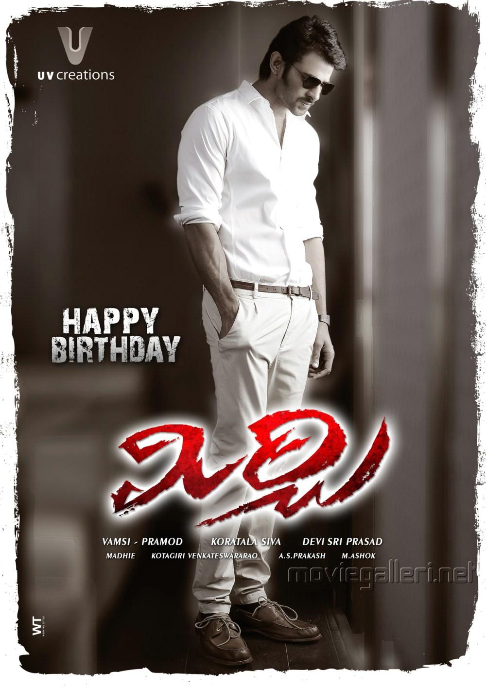 Prabhas Mirchi Movie First Look Posters