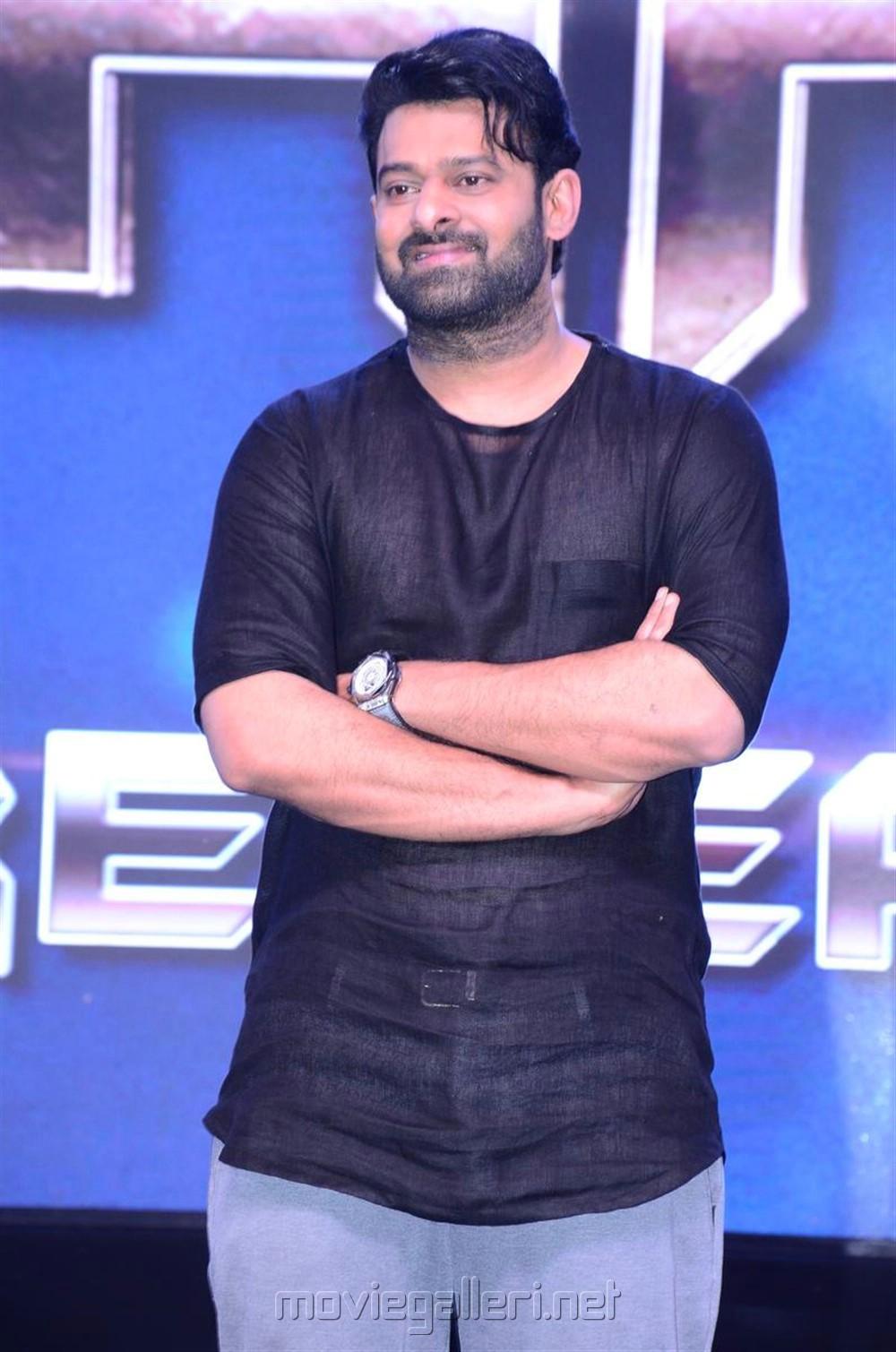 Actor Prabhas Photos @ Saaho Movie Pre Release Event