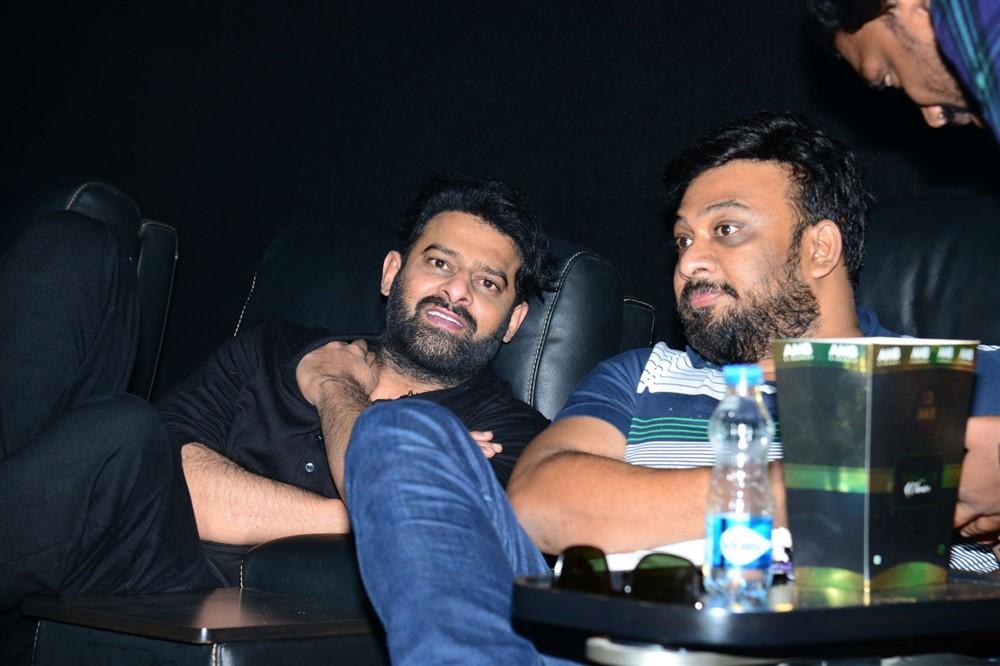 Actor Prabhas watches Saaho Movie @ AMB Cinemas Photos