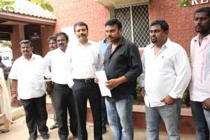 Prabhu Solomon Meets Chennai Police Commissioner